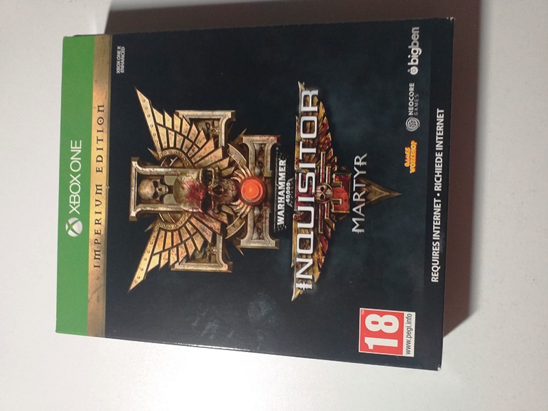 Joc XBOX One Warhammer 40K Inquisitor Martyr Imperium Edition