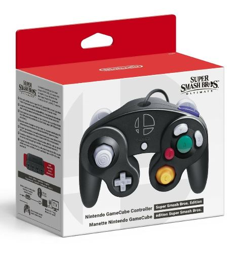 Controller - Super Smash Bros. Ed - Nintendo Switch, Wii, Wii U, Gamecube - 60458