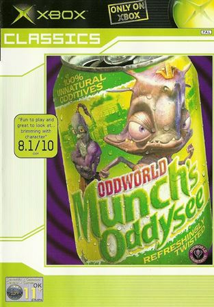 Joc XBOX Clasic Oddworld: MUNCH'S ODDYSEE Classcis
