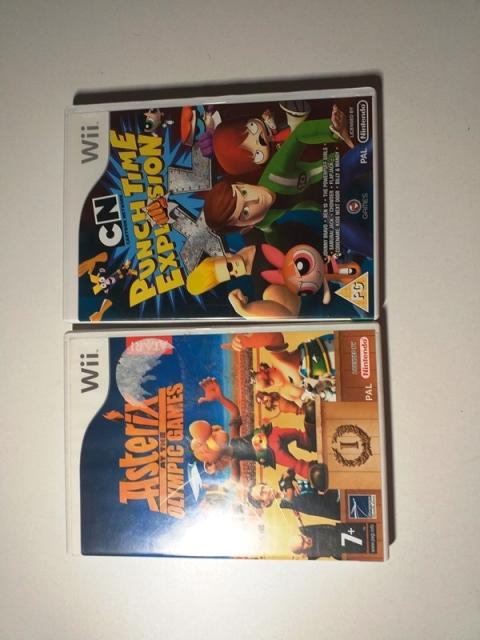 Joc Nintendo Wii X 2 - LOT 036