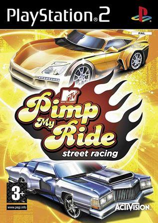 Hra PS2 MTV Pimp My Ride Street Racing