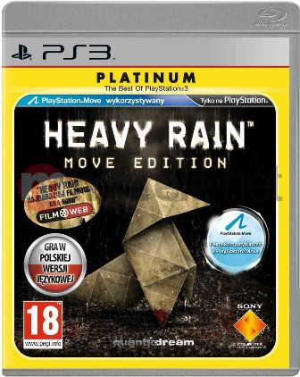 Joc PS3 Heavy Rain Platinum - Move Edition