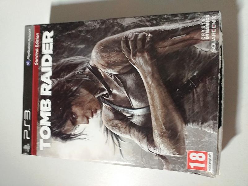 Joc PS3 Tomb Raider Survival Edition