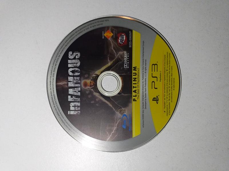 Joc PS3 Infamous Platinum - G