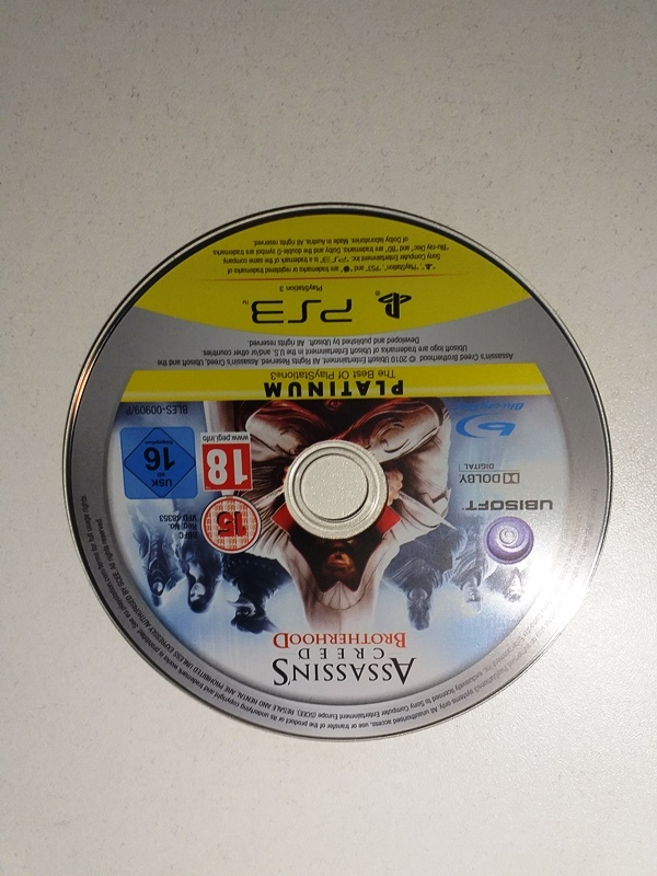 Joc PS3 Assassin's Creed Brotherhood Platinum - G