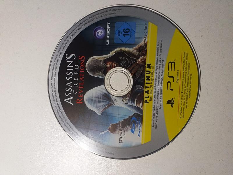 Joc PS3 Assassin's Creed Revelations Platinum - G