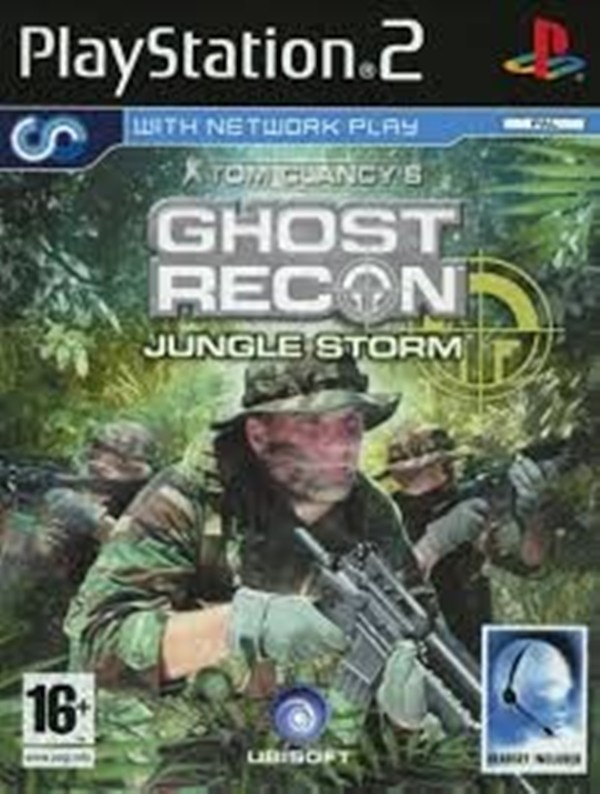 Joc PS2 Tom Clancy's Ghost Recon - Jungle Storm - German