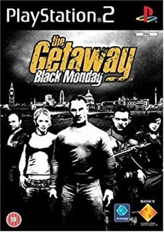 Joc PS2 The Getaway Black Monday - German