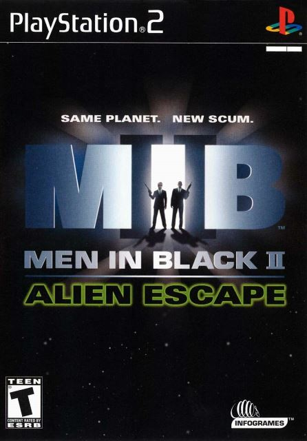 Joc PS2 Men in Black II: Alien Escape - German