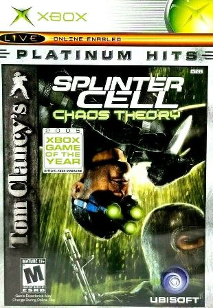 Joc XBOX Clasic Tom Clancy's Splinter Cell: Chaos Theory  - Platinum Hits - NTSC UC
