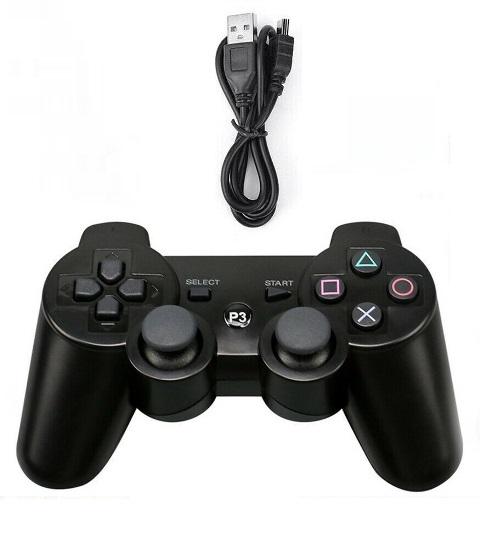 Controller wireless + cablu alimentare pentru PS3 - 60479