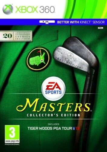 Joc XBOX 360 Tiger Woods PGA Tour 13: The Masters Collector's Edition