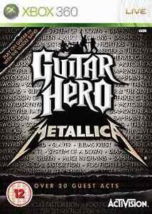 Joc XBOX 360 Guitar Hero: Metallica
