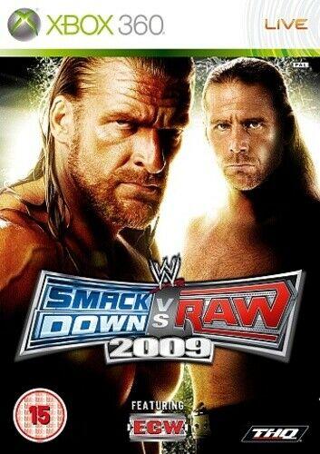 Joc XBOX 360 WWE SmackDown Vs. RAW 2009 - A