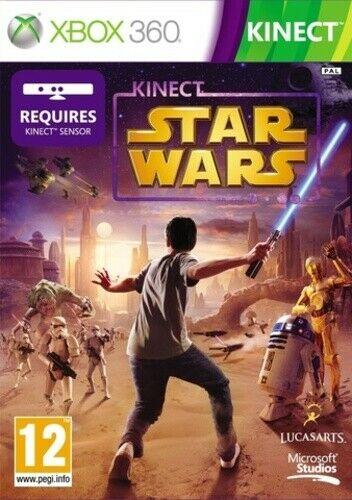 Joc XBOX 360 Star Wars Kinect - A