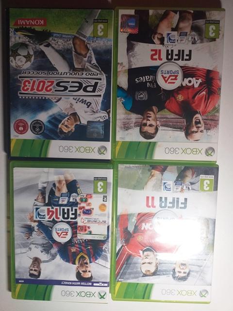 Joc XBOX 360 x 4 - LOT 059