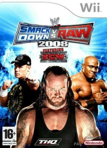 Joc Nintendo Wii WWE SmackDown vs. RAW 2008 - B