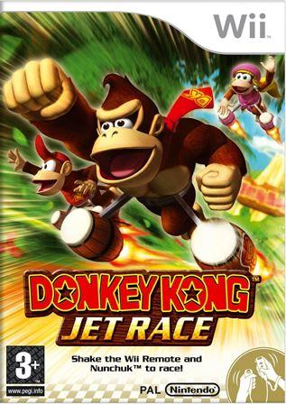 Joc Nintendo Wii Donkey Kong Jet Race