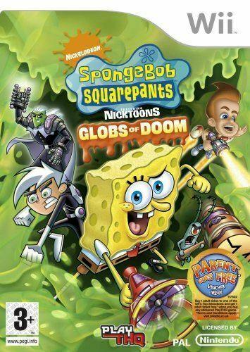 Joc Nintendo Wii SpongeBob SquarePants Featuring Nicktoons: Globs of Doom - B