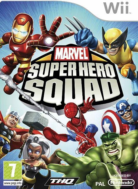 Joc Nintendo Wii Marvel Superhero Squad - B