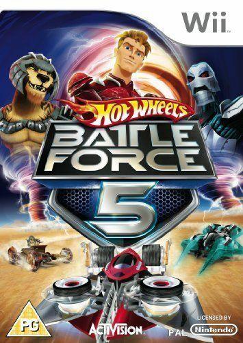 Joc Nintendo Wii Hot Wheels: Battle Force 5