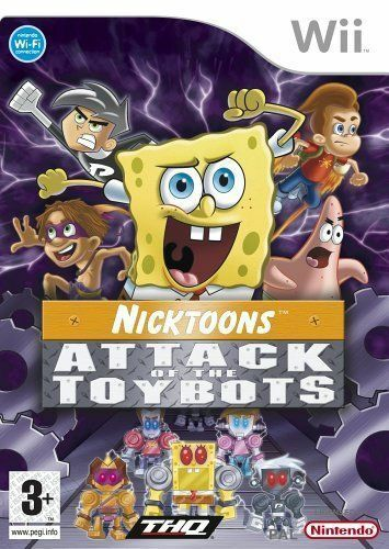 Joc Nintendo Wii Nicktoons: Attack of the Toybots