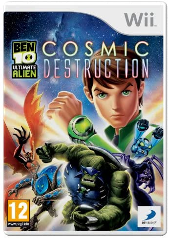 Joc Nintendo Wii Ben 10 Ultimate Alien: Cosmic Destruction