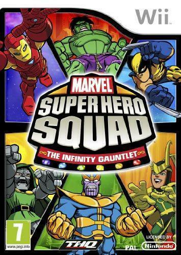Joc Nintendo Wii Marvel Super Hero Squad: The Infinity Gauntlet