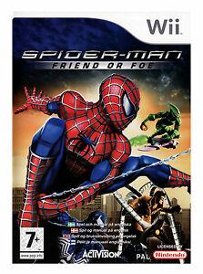 Joc Nintendo Wii Spider Man Friend Or Foe