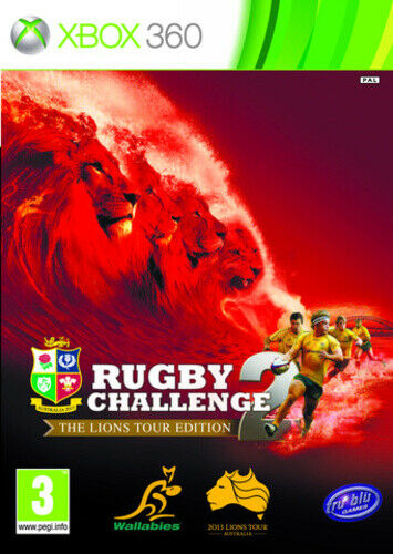 Joc XBOX 360 Rugby Challenge 2: The Lions Tour Edition