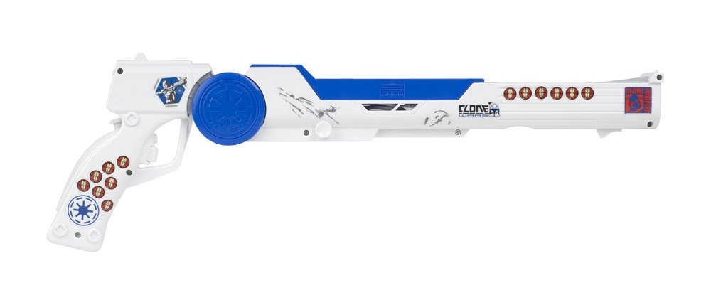 Pusca Nintendo Wii - Star Wars - Clone Trooper Blaster - Nintendo® - 60484