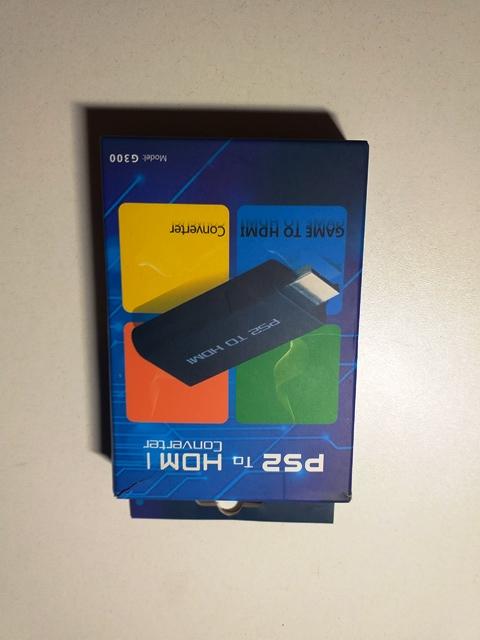 Adaptor convertor PS1, PS2 la HDMI