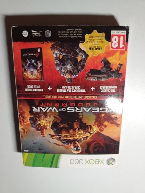 Joc XBOX 360 Gears of War Judgment - Limited Edition