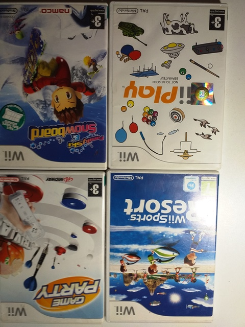 Joc Nintendo Wii X 4 - LOT 039