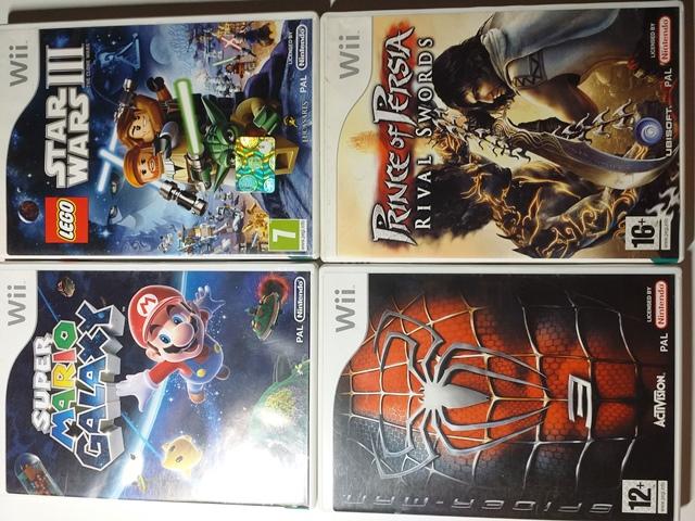 Joc Nintendo Wii X 4- LOT 040