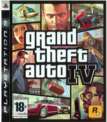 PS3  Játék Grand Theft Auto IV - GTA 4 - AC