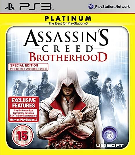 Joc PS3 Assassin's Creed Brotherhood Platinum