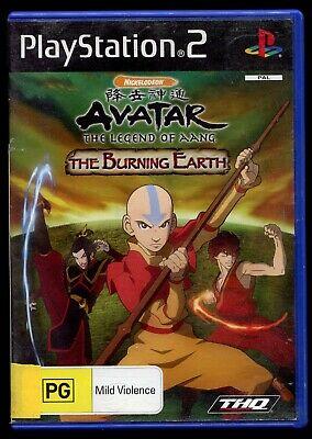 Joc PS2 Avatar The Burning Earth
