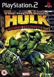 Joc PS2 The Incredible Hulk: Ultimate Destruction