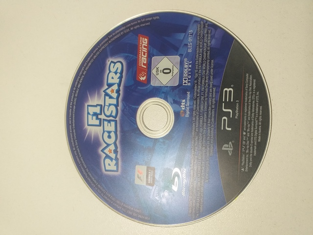 Hra PS3 F1 Race Stars - G
