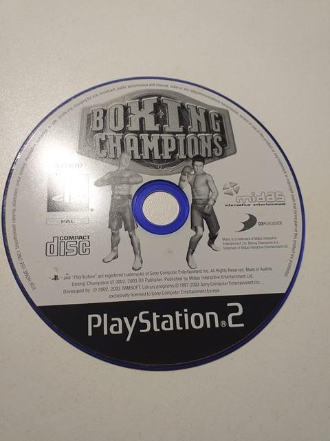 Joc PS2 Boxing Champions - G