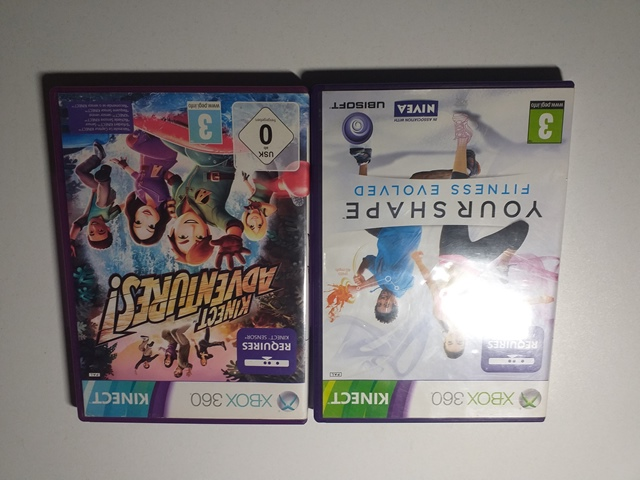 Joc XBOX 360 x 2 - LOT 062 - Kinect