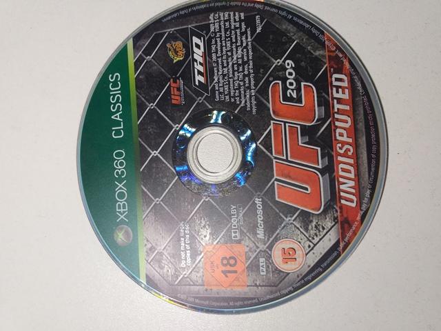 Joc XBOX 360 UFC 2009 Undisputed Classics - G