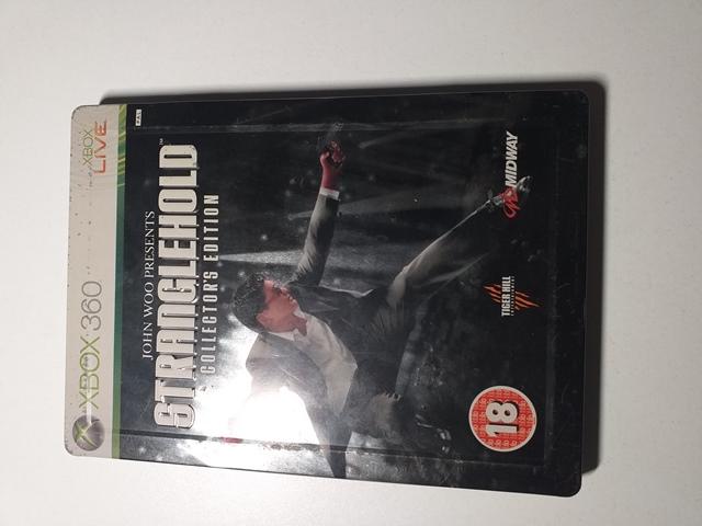 Joc XBOX 360 Stranglehold Collector's Edition - G