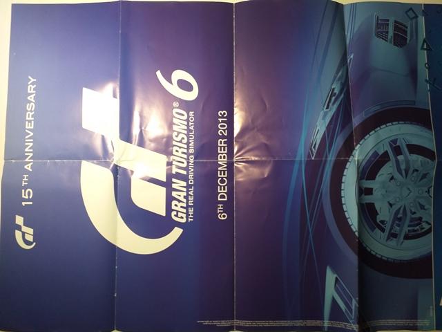 Poster - Gran Turismo 6 - Beyond two souls
