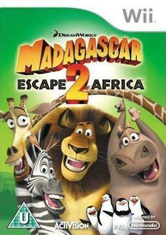 Joc Nintendo Wii Madagascar : Escape 2 Africa