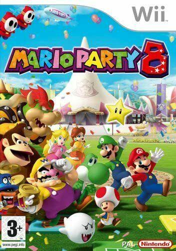 Joc Nintendo Wii Mario Party 8