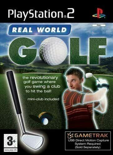 Joc PS2 Gametrak Real World Golf