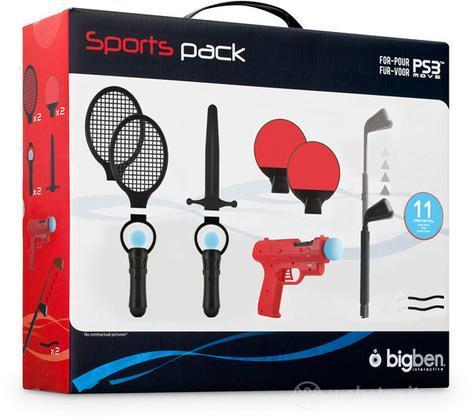 Set 11 accesorii Sport pentru - PS Move - PS3 / PS4 - 60499