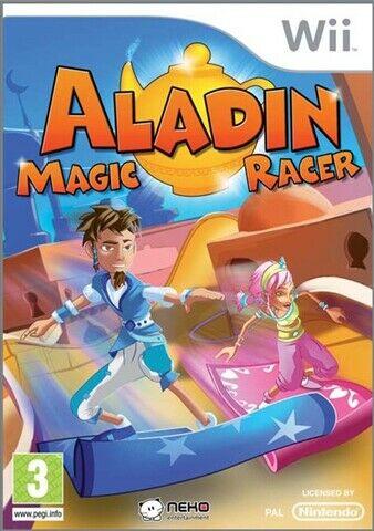 Joc Nintendo Wii Aladin Magic Racer